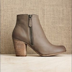 B.P. Nordstrom Trolley Taupe tan leather bootie
